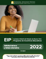 Programa de Incentivo Educativo, Solicitud de becas y folleto informativo (PDF)