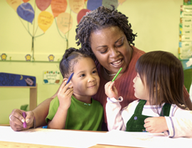 Earning a CDA credential can improve your skills and confidence in working with children.