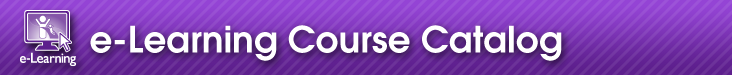 e-Learning Course Catalog